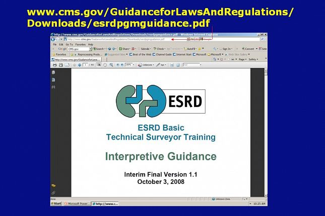 niaho interpretive guidelines and surveyor guidance